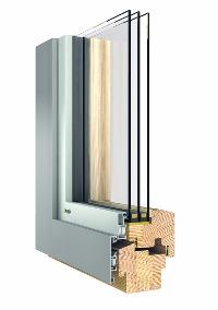 Holz Aluminium Fenster von Kowa